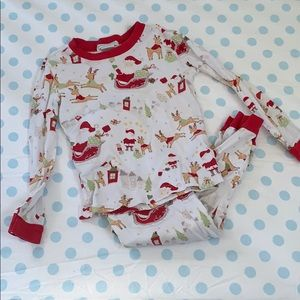4T pottery barn Christmas jammies